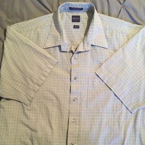 Arrow button up short sleeve dress shirt